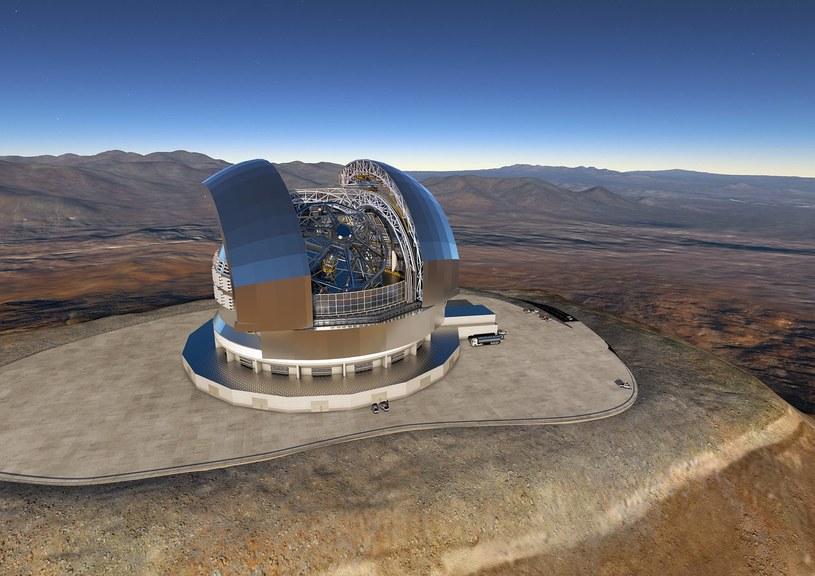 Ekstremalnie Wielki Teleskop Europejski (E-ELT). Fot. ESO /materiały prasowe