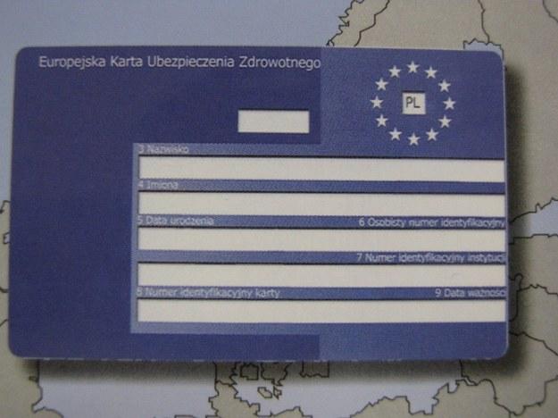 EKUZ ważny za granicą, w Polsce jest bezużyteczny