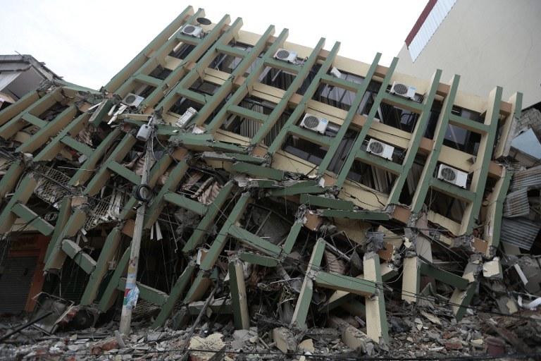 Ekwador po trzęsieniu ziemi /AFP