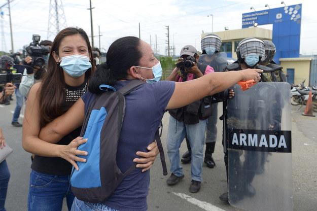 Ekwador, więzienie /MARCOS PIN  /PAP/EFE