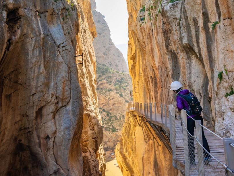 El Camino del Rey w Maladze w Hiszpanii /123RF/PICSEL