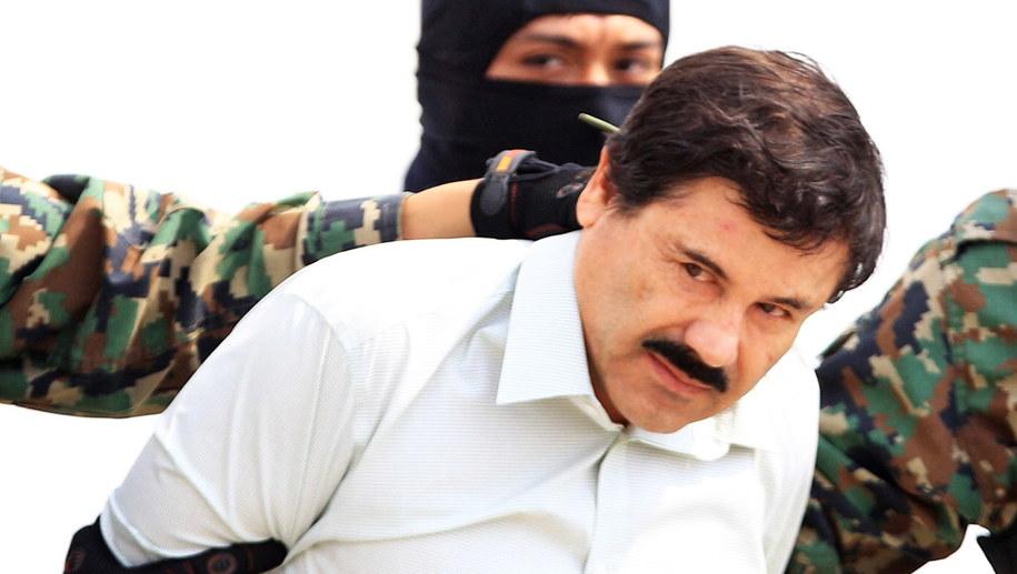 """""""El Chapo"""" był jednym z największych baronów narkotykowych /MARIO GUZMAN    /PAP/EPA"""