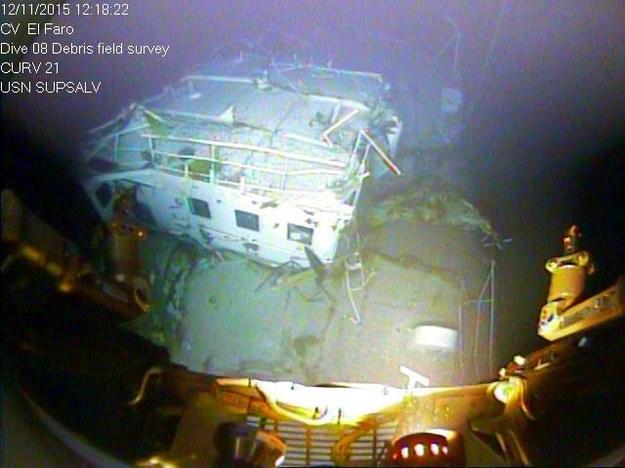 El Faro zatonął w październiku ubiegłego roku /NTSB / HANDOUT    /PAP/EPA
