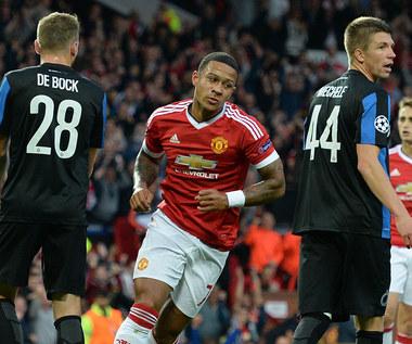 El. Ligi Mistrzów: Manchester United - FC Brugge 3-1