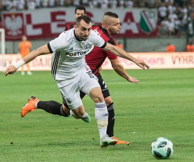 El. LM. Spartak Trnawa - Legia Warszawa 0-1. Awans Spartaka