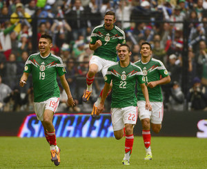 El. MŚ 2014: Meksyk - Nowa Zelandia 5-1 w barażu