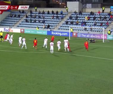 El. MŚ 2022. Andora - Węgry 1-4. Wszystkie bramki. Wideo