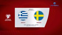 EL. MŚ 2022. Grecja - Szwecja 2-1. Skrót meczu (POLST SPORT). Wideo