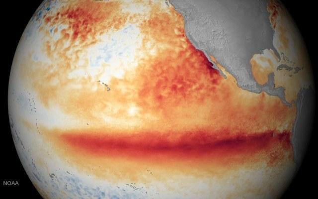 El Nino to zjawisko naturalne, które wiąże się w wahaniami temperatury powierzchni oceanu na Pacyfiku /materiały prasowe