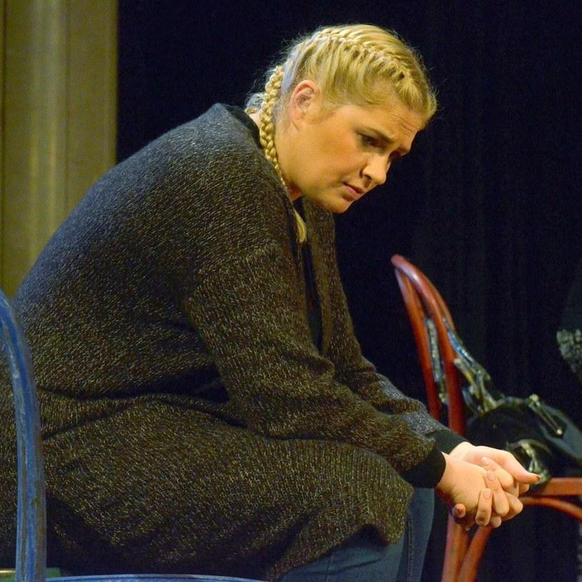 "Ela Romanowska gra m.in. w spektaklu ""Próba stepowania"" /East News"