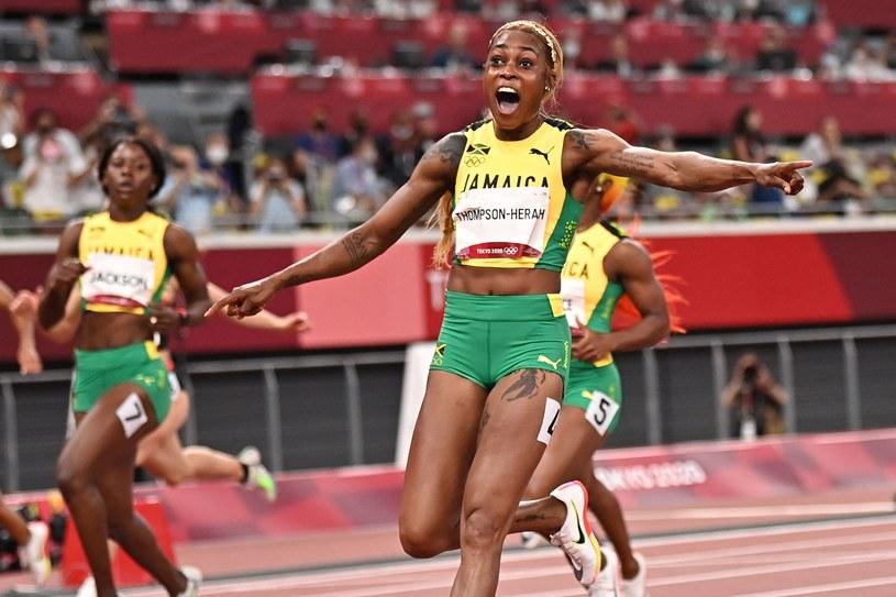 Elaine Thompson-Herah była najszybsza na 100 m /AFP