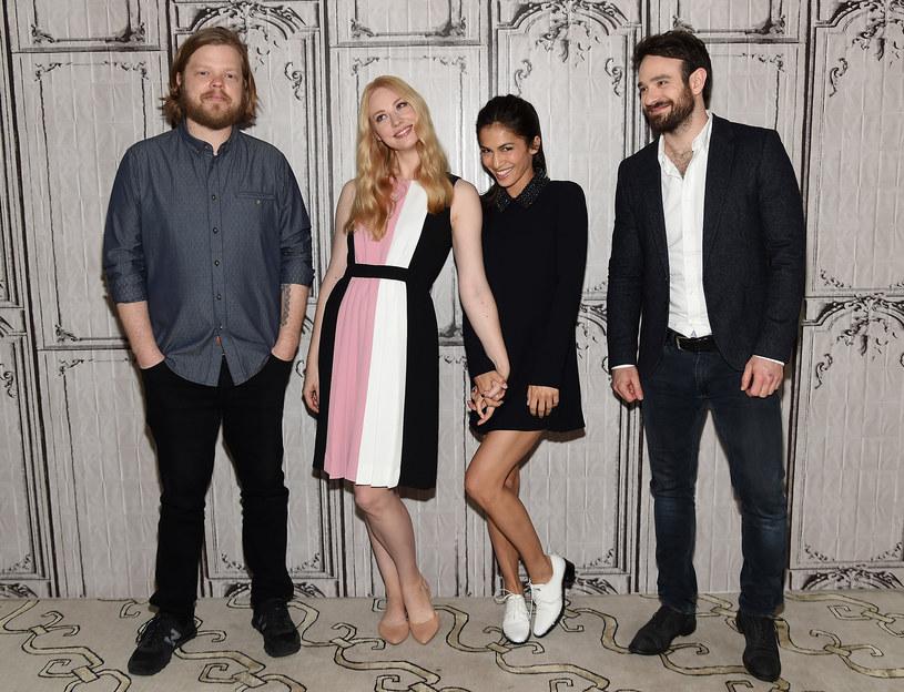 Elden Henson, Deborah Ann Wool, Elodie Yung, Charlie Cox /Jamie McCarthy /Getty Images