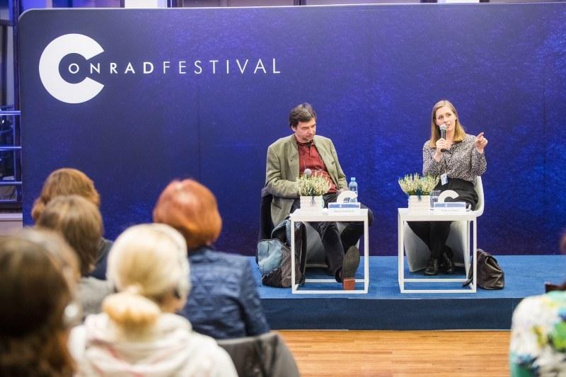 Eleanor Catton na Festiwalu Conrada /Wojciech Wandzel /