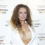 Elegancka Joanna Liszowska wyeksponowała stanik!
