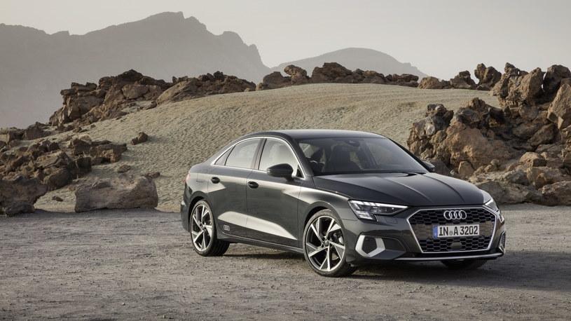 Elegancki i zmysłowy design – tak prezentuje się Audi A3 w wersji Limousine /materiały prasowe