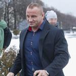 """Elegancki Mariusz Pudzianowski przed studiem """"Pytania na śniadanie"""""""
