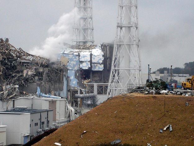 Elektrownia atomowa, która ucierpiała wskutek trzęsienia ziemi i tsunami /PAP