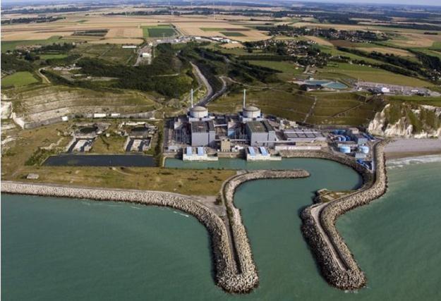 Elektrownia atomowa Penly w Normandii/fot. http://energie.edf.com /