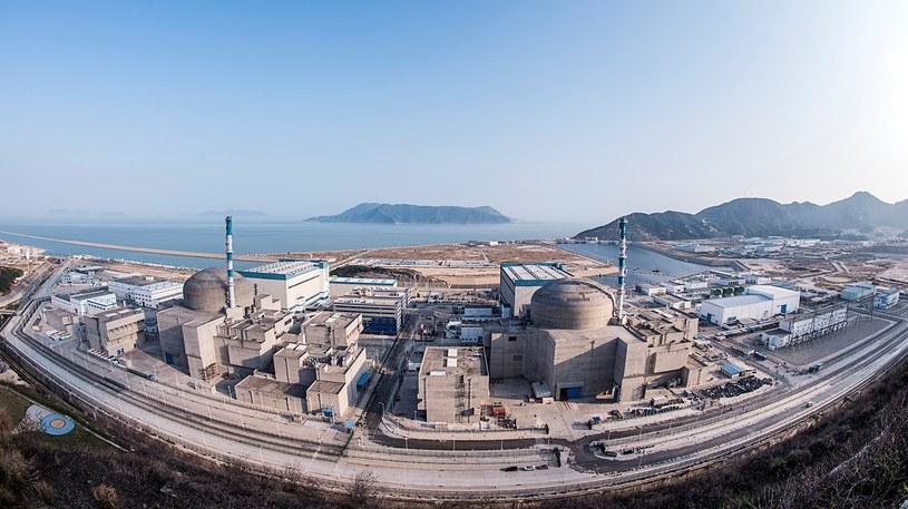 Elektrownia atomowa w Taishan. /EDF /materiały prasowe