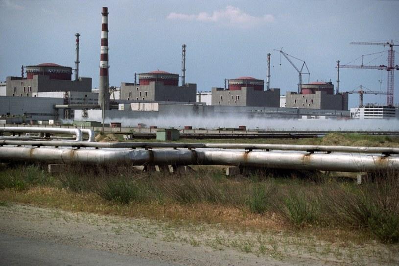 Elektrownia atomowa w Zaporożu /PAP/EPA