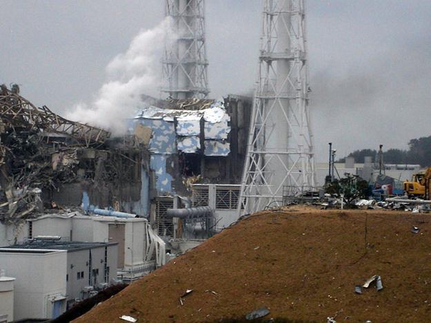 Elektrownia Fukushima zniszczona przez tsunami /AFP
