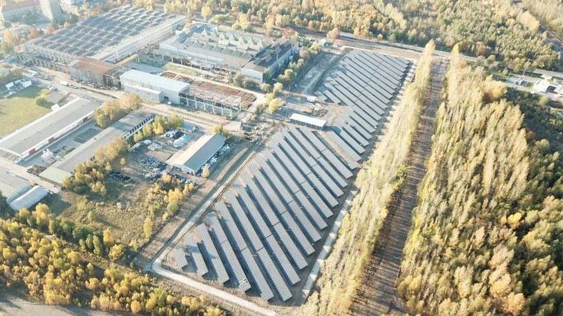 Elektrownia FV KGHM ZANAM /KGHM /materiały prasowe