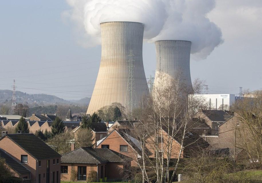Elektrownia jądrowa jest po drugiej stronie granicy w Belgii /JULIEN WARNAND /PAP/EPA