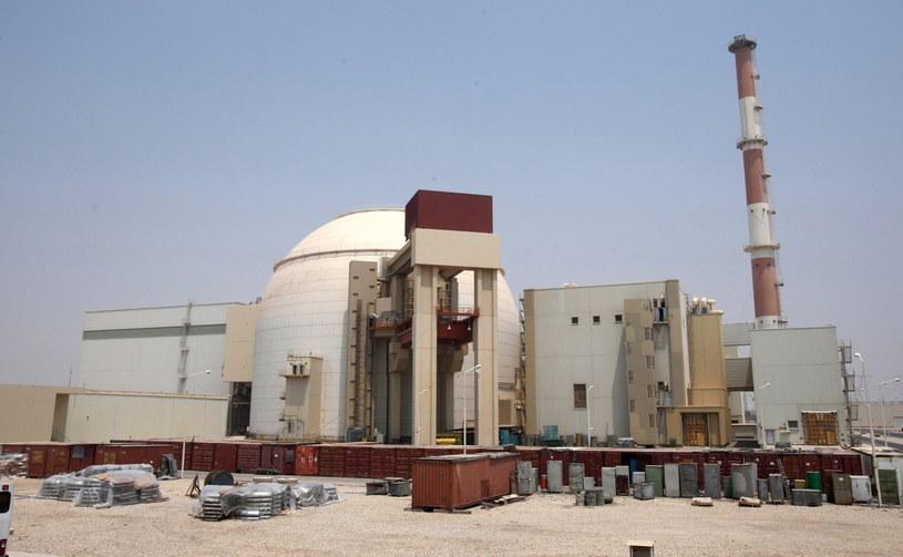 Elektrownia jądrowa w Buszehrze nad Zatoką Perską /Abedin Taherkenareh   /PAP/EPA