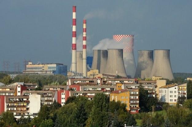 Elektrownia Łagisza, należąca do koncernu Tauron/fot. Wojciech Strozyk /Reporter