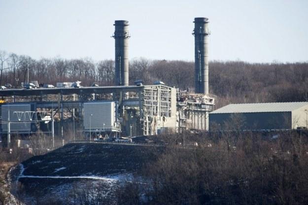 Elektrownia, o mocy 620 megawatów, produkowała prąd wykorzystując energię ze spalania gazu ziemnego /AFP