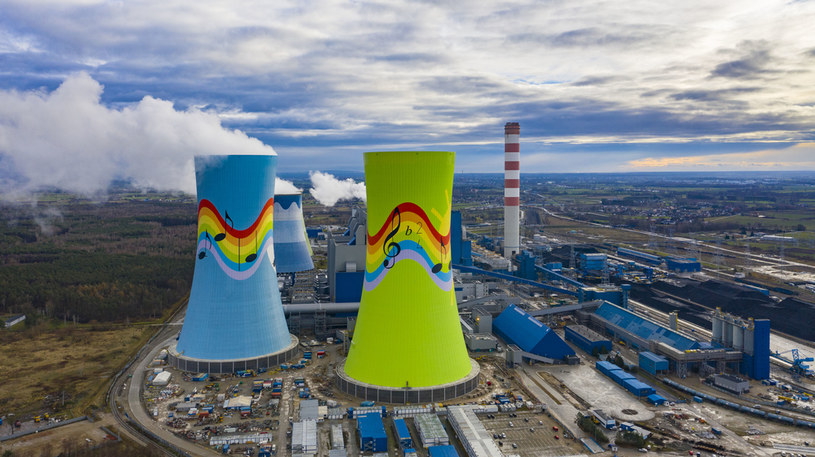 Elektrownia Opole  z Grupy PGE /Robert Neumann /Agencja FORUM