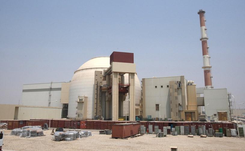 Elektrownia w Buszehr /Abedin Taherkenareh   /PAP/EPA