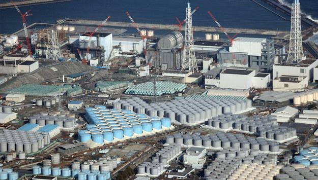 Elektrownia w Fukushimie /JIJI PRESS JAPAN /PAP/EPA