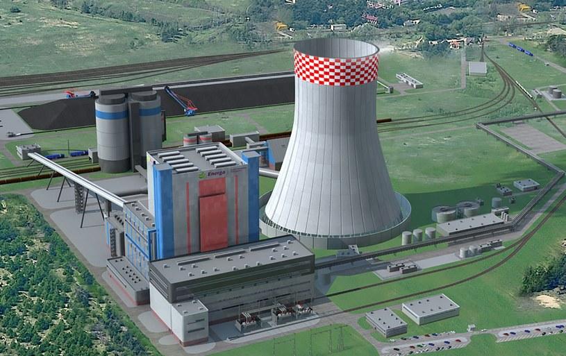 Elektrownia w Ostrołęce wizualizacja, źródło: Energa /Informacja prasowa