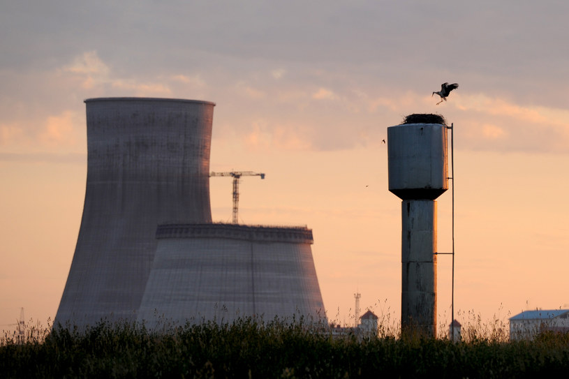 Elektrownia w Ostrowcu na Białorusi /SERGEI GAPON /AFP