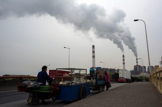 Elektrownia węglowa w Chinach /AFP