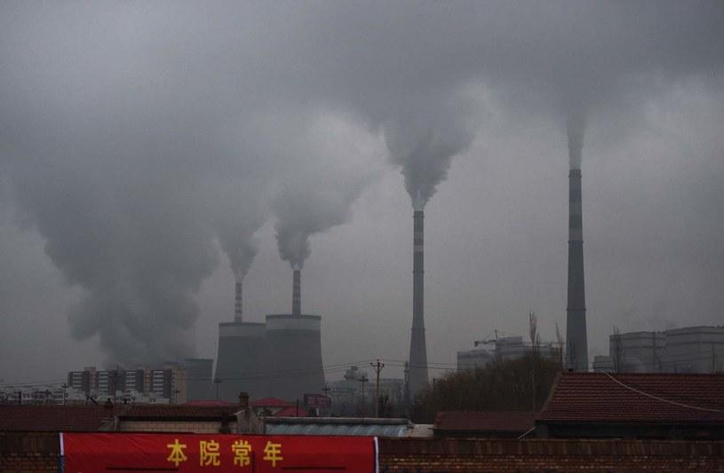 Elektrownia węglowa w Datong, w chińskiej prowincji Shanxi /AFP