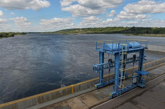 Elektrownia wodna na Wiśle we Włocławku. Fot Gerard/Reporter /Reporter
