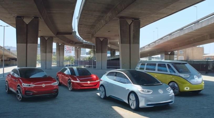 Elektryczna rodzina Volkswagena - ID Crozz II Concept, ID Vizzion Concept, ID.3 Concept oraz ID Buzz Concept /
