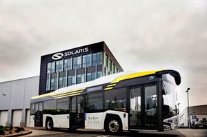 Elektryczne autobusy Solarisa w Krakowie
