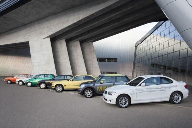 Elektryczne samochody BMW /