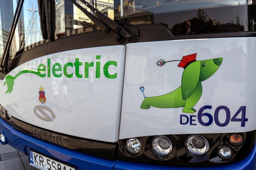 Elektryczny autobus Solarisa /Jan Graczyński /East News