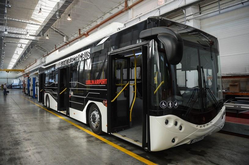 Elektryczny autobus Ursusa /Zbyszek Kaczmarek /Reporter