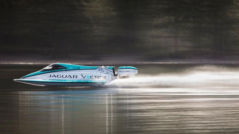 Elektryczny Jaguar Vector bije rekord prędkości /materiały prasowe