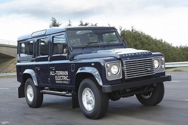 Elektryczny Land Rover Defender /