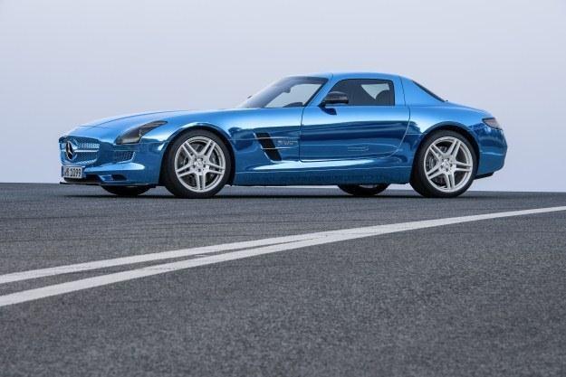 Elektryczny Mercedes SLS AMG /PAP