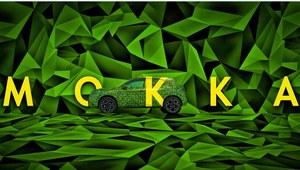 Elektryczny Opel Mokka w kamuflażu