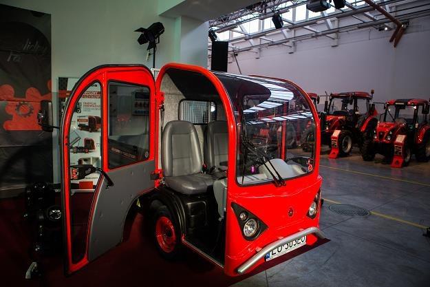 Elektryczny pojazd dostawczy Ursusa /Nowy Przemysł
