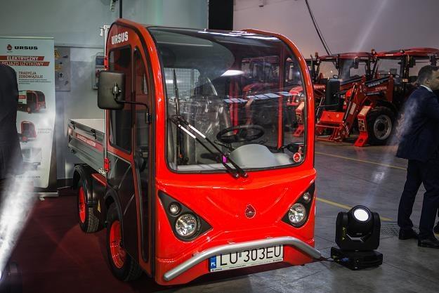 Elektryczny pojazd dostawczy Ursusa /Informacja prasowa