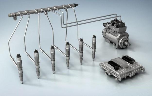Elemety układu wtryskowego typu common-rail /